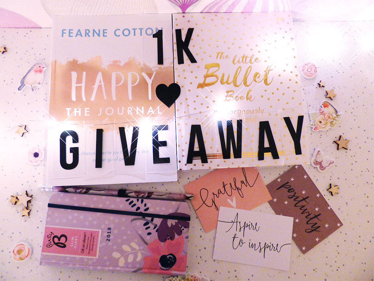 My Pretty Awesome 1k Giveaway